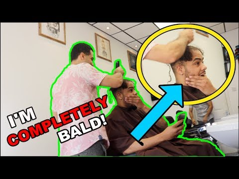 I SHAVED MY HAIR OFF!! **VERY EMOTIONAL**
