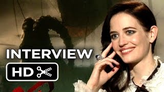 300: Rise of an Empire Junket Interview - Eva Green (2014) - Action Movie HD