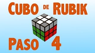 Resolver cubo de Rubik: Paso 4