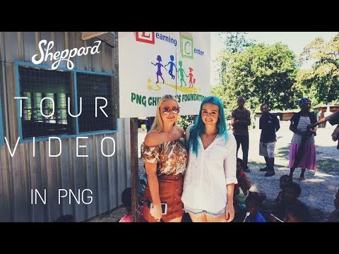 Sheppard - in PNG (Tour Video)