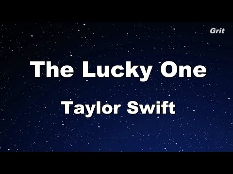 The Lucky One - Taylor Swift Karaoke【No Guide Melody】