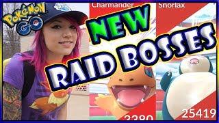 NEW KANTO EVENT RAID BOSSES IN POKEMON GO!