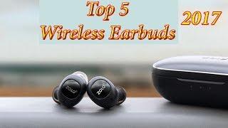 Top 5- Best Wireless Earbuds / Best Wireless Headphones 2017, Zolo - Liberty, You Tune, Apollo 7..