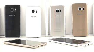 Samsung Galaxy S7 italiano e Samsung Galaxy S7 Edge panoramica design e colorazioni
