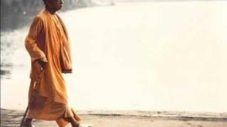 Prabhupada chanting Hare Krsna