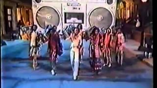 Panasonic 80s TV commercial with Earth, Wind and Fire