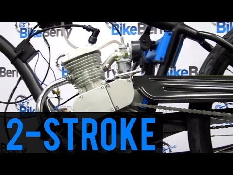 How To Install 80cc 2 Stroke Bicycle Engine Kit FULL DVD 66cc 48cc 50cc