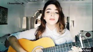مغربية تغني أغنية مسلسل زواج مصلحة(علاقات معقدة)