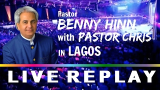 PASTOR BENNY HINN & PASTOR CHRIS in LAGOS - Pastors' Conference (DAY 1)