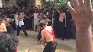 Syed Ali Raza Badshah Ashura 2017 Zanjeer Zani