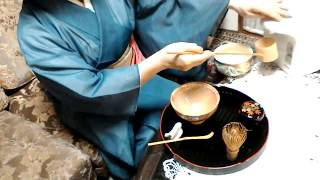 お茶の作法 其の一 盆点前 Tea Lesson Ⅰ「BONTEMAE]