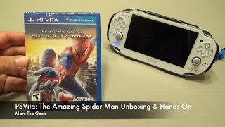 PSVita: The Amazing Spider Man Unboxing & Hands On
