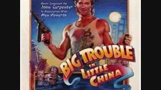 Big Trouble In Little China Soundtrack - Lopan's Domains/Looking For A Girl