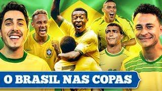 O Brasil nas COPAS DO MUNDO - Com Fred Desimpedidos