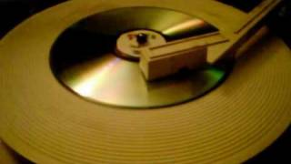 a CD I made to work on a record player - CDRecord v1.0