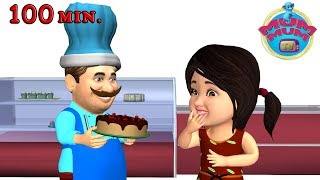 Pat a Cake, Jack and Jill & Wheels on the bus,  Nursery Rhymes & Kids Songs Collection - Mum Mum TV