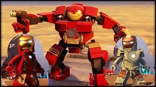 LEGO MARVEL AVENGERS - ALL Iron Man Armor In the Game!