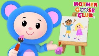 Animal Sounds Song | Mouse Drawing Surprise Animals | Mother Goose Club