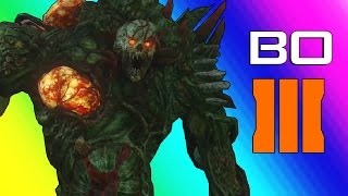 Black Ops 3 Zombies: Zetsubou No Shima - Spider Boss! (Funny Moments & Gameplay)
