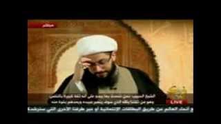 هههههه شاهدو سقوط عمامة الرافضي ياسر الخبيث وهو هههههههههه   ههههههههههه