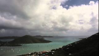 Saint John USVI Weather Time Lapse Coral Bay
