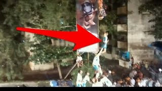 Dahi Handi 2014 Accident