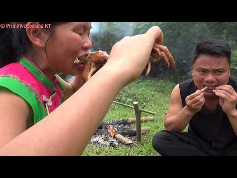 Xxx Mp4 Primitive Technology Catch Wild Chicken By Primitive Trap And Cooking Chicken Eating Delicious 3gp Sex