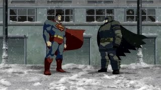 Batman vs Superman pt1-The Dark Knight Returns Part 2