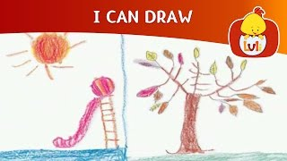 I Can Draw 18 - Summer and Fall, Luli TV