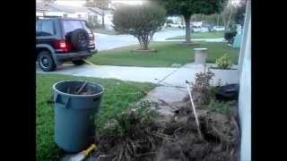 how not to pull out a stump with a isuzu trooper