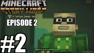 Minecraft Story Mode Episode 2 - Gameplay Walkthrough Part 2 [ HD ] - No Commentary