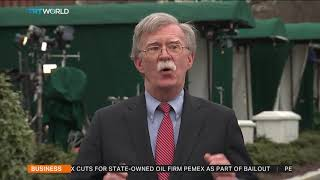 Bolton says Maduro supporters negotiating with opposition