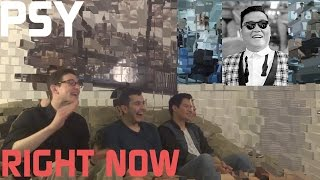 PSY - RIGHT NOW Music Video Reaction, Non-Kpop Fan Reaction [HD]