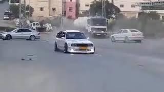 تفحيط سيارات / فلسطين / نابلس