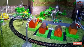 How to make Science Fair / Easy Rail Models / Railway  Working Model /  Unmanned Railway Crossing