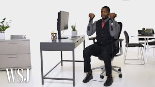 How to Get Your Daily Workout at Your Desk | WSJ