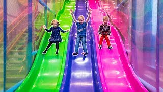 Indoor Playground Fun for Kids and Family at Bill & Bull