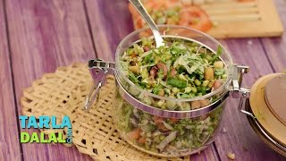 Mixed Sprouts Salad (Diabetic Recipe) by Tarla Dalal