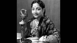 Chand Hai Wohi-Geeta Roy in Parineeta (1953)