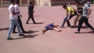 نسر الكونغ فو يفقد الوعي Eagle Jaber lose consciousness