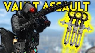Fallout 4 - VAULT ASSAULT - Fusion City Rising Part 1
