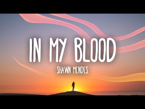 Download Shawn Mendes - In My Blood (Lyrics) free