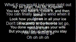 letting go (dutty love) - sean kingston ft. nikki minaj (lyrics)