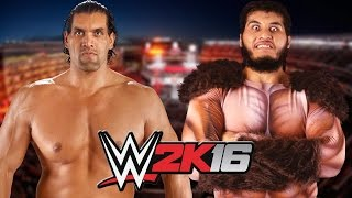 The Great Khali vs Giant Gonzalez