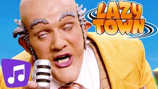 Lazy Town I It's Fun to be the Mayor & Many More Music Video