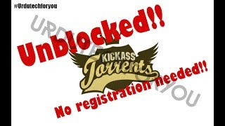 How to download torrents without registration  100% works (Urdu/Hindi)