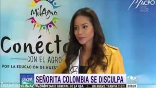 Andrea Tovar pide Disculpas por su controversial Entrevista en Cucuta
