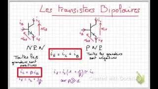 Introduction au transistor