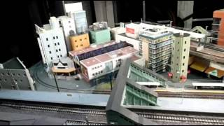 Tennoji Japanese N scale layout