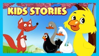 KIDS STORIES || Chicken Little, The Ugly Duckling and The Goose That Laid Golden Eggs